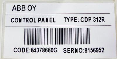 ABB ACS800-01-0011-7+K454 incl. CDP312R Frequenzumrichter -used- – Bild 3