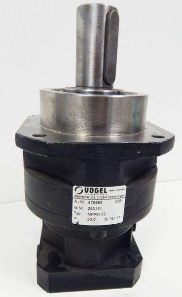 Getriebe MPRN 02 A-Nr. 476988 I=50,0 Hersteller: Vogel -unused- – Bild 1