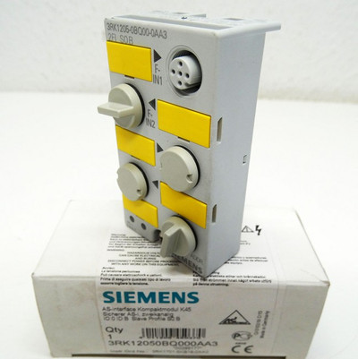 Siemens 3RK1205-0BQ00-0AA3 E: 06 AS-interface Kompaktmodul K45 - unused/OVP- – Bild 1