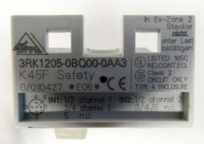 Siemens 3RK1205-0BQ00-0AA3 E: 06 AS-interface Kompaktmodul K45 - unused/OVP- – Bild 4