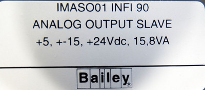 ABB Bailey infi90 IMASO01  IMASO 01 Analog Output Slave -used in Box- – Bild 3