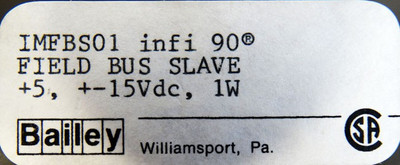 ABB Bailey infi90 IMFBS01  IMFBS 01 Field Bus Slave  -used in Box- – Bild 3