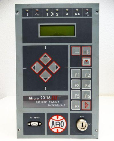 ARO Controls Micro 2X16 III 10T128P Flash ZAA6K4K9DPGS Schweißsteuerung -used- – Bild 4