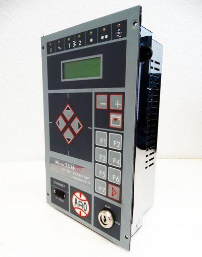 ARO Controls Micro 2X16 III 10T128P FlashMF ZAA7V3I9DPGS Schweißsteuerung -used  – Bild 1