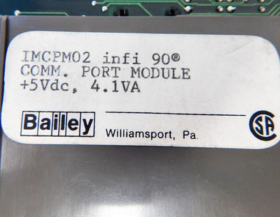 ABB Bailey infi90 IMCPM02 IMCP M 02 Communication-Port  - used - – Bild 4
