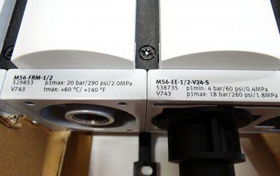 Festo MSB6-1/2:C4:J4:F1:D4:A1.F3-WP Nr. 531030 Wartungsgeräte-Komb -unused/OVP- – Bild 5