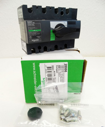 Schneider INSE60 3P 60A  INSE603P60A 28996 Switch Disconnector -unused/OVP- – Bild 1
