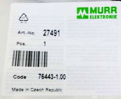 Murr Elektronik 27491 76443-1.00 -unused- – Bild 2