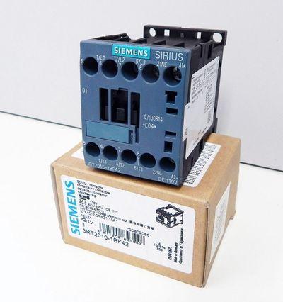 Siemens 3RT2016-1BF42 Schütz / Contactor 4kW 400V E:04 110V  -unused - in OVP – Bild 1