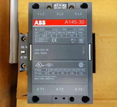 ABB 1SFL471001R8011 A145-30-11  230V Leistungsschützschalter -unused/OVP- – Bild 2