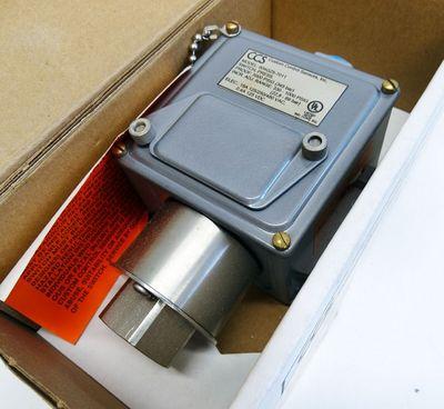 CCS Custom Control sensor 604GZ5-7011 22,8-69 bar Druckfluss Schalter -unused/OVP- – Bild 1