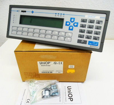 UniOP® MKDR-05-0045  HW: 33B1 SW: 5.03-FW32 OP Operator Panel -unused/OVP- – Bild 1