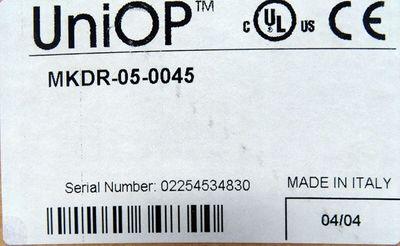 UniOP® MKDR-05-0045  HW: 33B1 SW: 5.03-FW32 OP Operator Panel -unused/OVP- – Bild 5