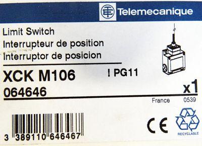 Telemecanique XCK-M XCK M106 XCKM106 064646 Endschalter -unused/OVP- – Bild 3