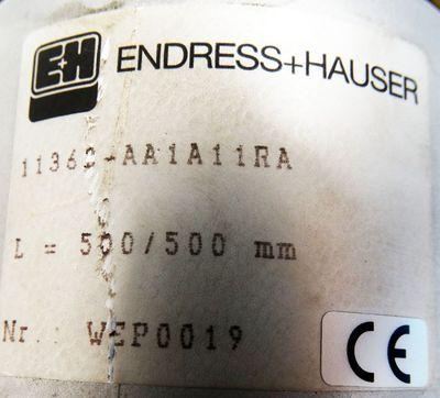 Endress + Hauser 11362-AA1A11RA Grenzstanddetektion Zweistabsonde -unused- – Bild 3