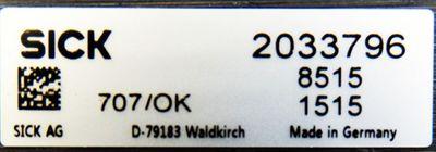 SICK MAIHAK 2033796  8515 Deuterium Lamp -unused-  – Bild 3