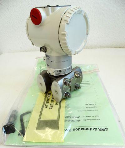 ABB 266MST LTKA6BH  266MSTLTKA6BH Druckmessumformer 4-20mA Hart -unused- – Bild 1