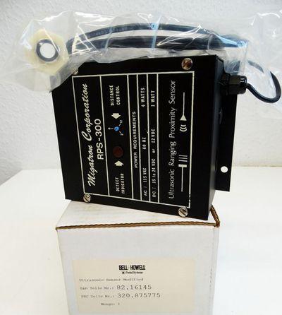 Bell+Howell Migatron Corp RPS-300 RPS-300-14 U-Sonic Sensor 82.16145 -unused/OVP – Bild 1