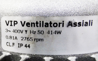 VIP Ventilatori Assiali VVCAL031PA11MNNA0 2905982 2765rpm Vantilator -unused- – Bild 4