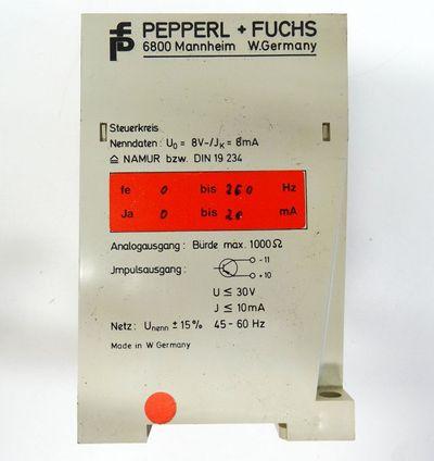 Pepperl+Fuchs FSU-2  FSU2  Frequenzumsetzer -used- – Bild 3