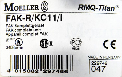 Moeller FAK-R/KC11/I IP67/69K FAK Komplettgerät Grobhandtaster -unused/OVP- – Bild 2