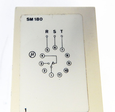Electromatic S-System SM 180 380 3-Ph-Angel-Error-Relay - used - – Bild 4