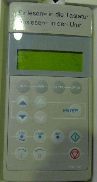 ABB ASC600 ASC601-0100-6 ASC60101006 S00C1200901 87A -used/Frontcover gebrochen- – Bild 3