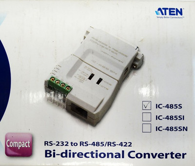 ATEN IC-485S RS-232 to RS-485/RS-422 Bi-directional Converter -unused/OVP- – Bild 3