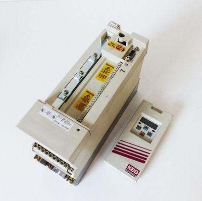 KEB F5 09.F5.GBD-3A0A 1,5kW Vers. 1,0 + 00.F5.060-1000 Vers. 1,0 -used- – Bild 2