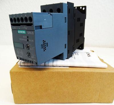 Siemens 3RW3018-1BB04 17,6A 7,5kW 400V E: 05 Sanftstarter -unused/OVP- – Bild 1