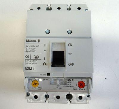 Moeller Eaton NZMB1-A50 NZMB1A50  690V AC 3 pol Leistungsschalter -unused/OVP- – Bild 2