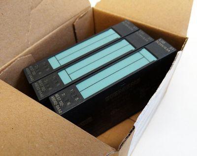 3x Siemens ET 200S 6ES7 132-4BD02-0AA0 E:02 Digital Output Module -unused/OVP – Bild 1