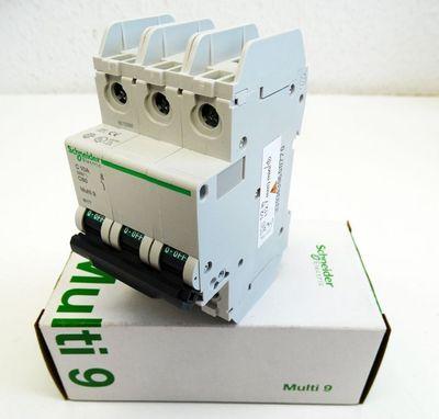 Schneider Electric Multi9 C60  60177 3P C10A Leitungsschutzschalter -unused/OVP- – Bild 1