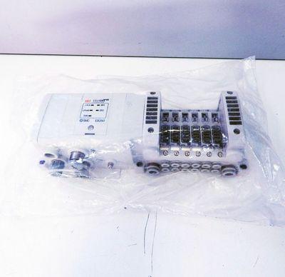 SMC EX250-SEN1-X156 SI EtherCAT Field-Bus 6 Ventile - unused -  – Bild 1