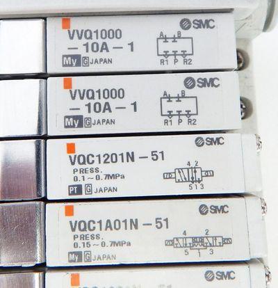 SMC SI DeviceNet EX250-SDN1  &  6x VQC1201N-51 & 2x VVQ1000 - used - – Bild 3