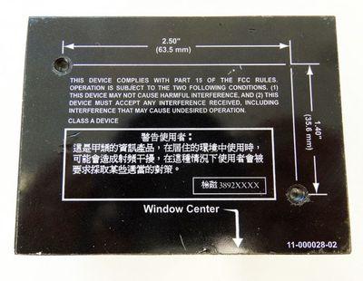 Microscan MS-820 FIS-0820-0004G  Barcode Scanner -used- – Bild 4