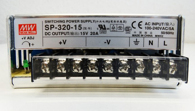 Mean Well SP-320-15 15V DC 20A 100-200VAC Switching Power Supply -unused- – Bild 3