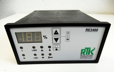 Regeltechnik Kornwestheim RE 3460  RE3460 0/4-20mA - 0/2-10V -unused- – Bild 2
