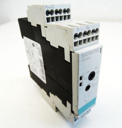 Siemens Simrel 3RS1101-2CD30 3RS1 101-2CD30 E: 02 Überwachungsrelais -used- – Bild 1