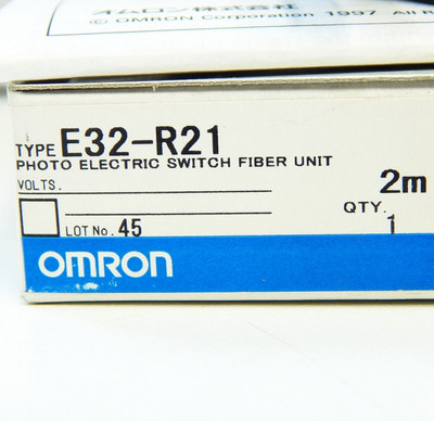 Omron Retroflective Fiber Unit 2 meter E32-R21   - unused - in OVP – Bild 3
