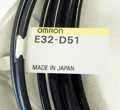 Omron E32-D51  Fibre-Optic-Cable  - unused - in OVP – Bild 2