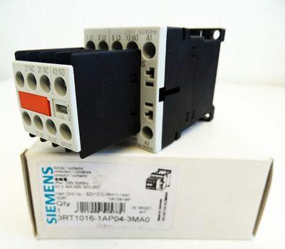 Siemens 3RT1016-1AP04-3MA0  4kW 400V 2NO+2NC E: 05 Schütz -unused/OVP- – Bild 1