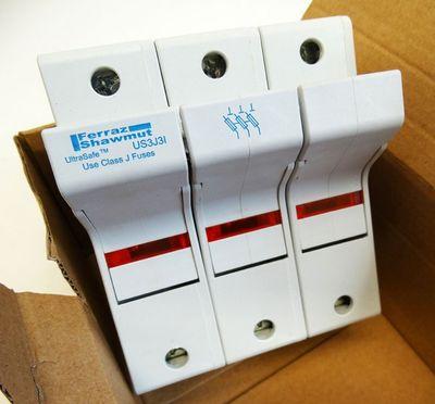 Ferraz Shawmut US3J3I K214967 600V 30A Sicherungshalter Ultrasafe -unused/OVP- – Bild 1
