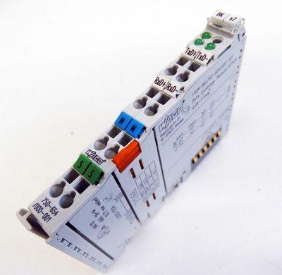 WAGO 750-654/000-001 Datenaustausch Klemme/ Data Exchange Module 125KHz -used- – Bild 1
