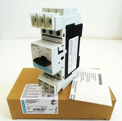Siemens 3RV1721-1DD10 3RV1 721-1DD10 3,2A E: 05 Leistungsschalter -unused/OVP- – Bild 1