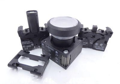 2x Siemens 3SB3 245-0AA71-0CC0 E-Stand: 04 Drucktaster -unused/OVP- – Bild 3
