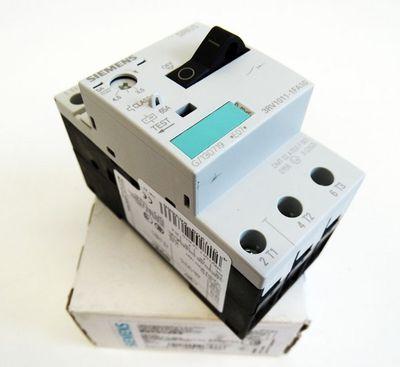 Siemens 3RV1011-0FA10 3RV1 011-0FA10 E: 07 Leistungsschalter -unused/OVP- – Bild 1
