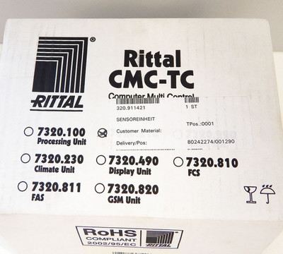 Rittal 7320.210 Sensoreinheit CMC-TC IO  - unused - in OVP – Bild 4