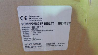 Danfoss/VEM Drehstrommotor VCM 322 / M21R L4T LCP22 2,2KW r/min1500 - unused -  – Bild 5