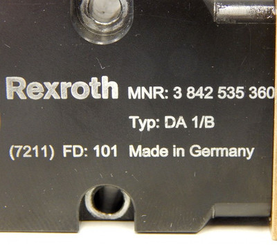 Rexroth DA 1/B No:3842535360   Dämpfer  - used - – Bild 3